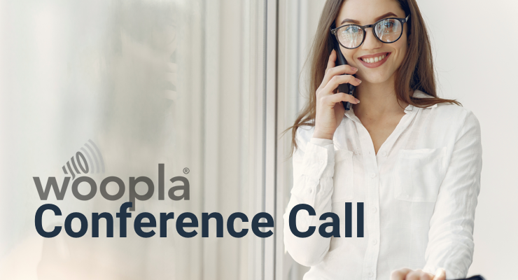 International conference calls from woopla